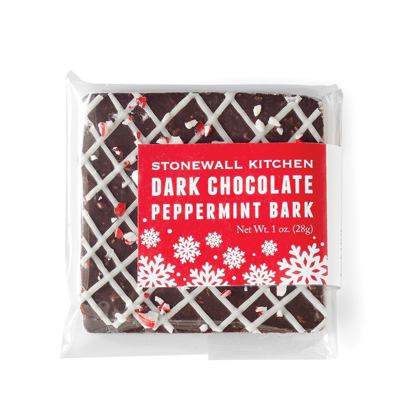 Dark Chocolate Peppermint Bark