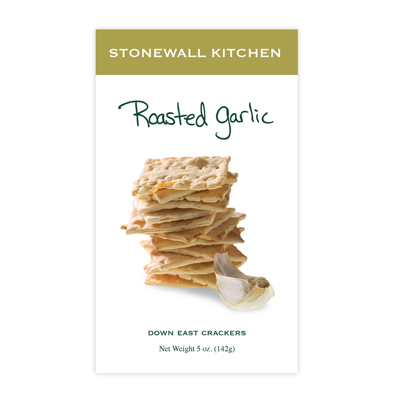 Down East Crackers - Roasted Garlic