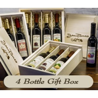 4 Bottle Gift Box