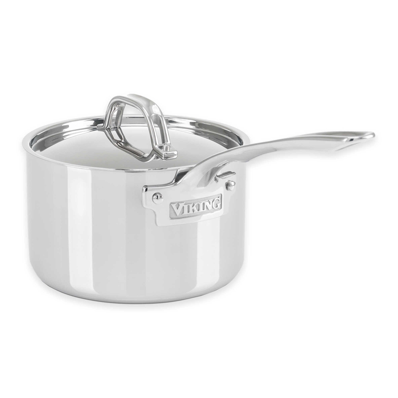 Stainless Steel Sauce Pan, Satin Finish