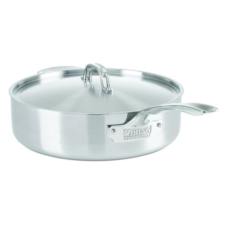 Stainless Steel Sauté Pan, Satin Finish