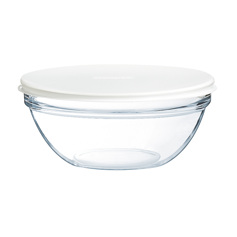 Stackable Glass Bowl with Lid - 4
