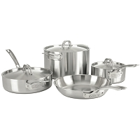 Stainless Steel 7 Piece Set, Satin Finish