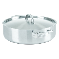 Stainless Steel Casserole Pan, Satin Finish