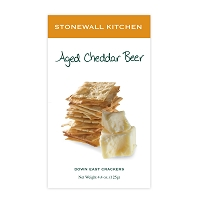 Down East Crackers - Aged Cheddar Beer Crackers
