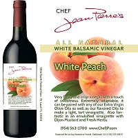 Peach White Balsamic Vinegar